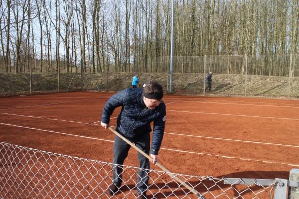 Tennis Baneklargøring 2018 014