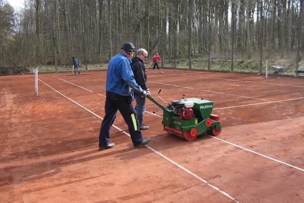 Tennis Vejlevej klargøring m.m. 18 003