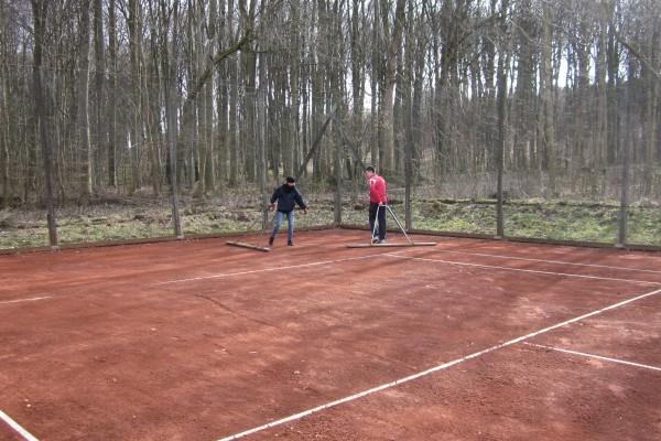 Tennis Vejlevej klargøring m.m. 18 005