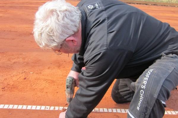 Tennis Vejlevej klargøring m.m. 18 012