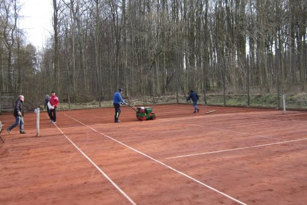 Tennis Vejlevej klargøring m.m. 18 016
