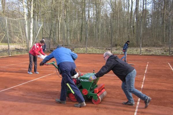 Tennis Vejlevej klargøring m.m. 18 017