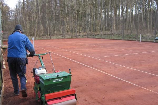 Tennis Vejlevej klargøring m.m. 18 018